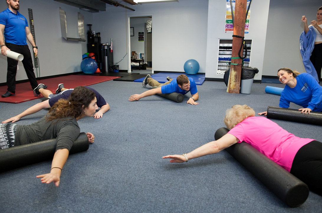 Mass-Fit offering safe, effective Lower Back classes