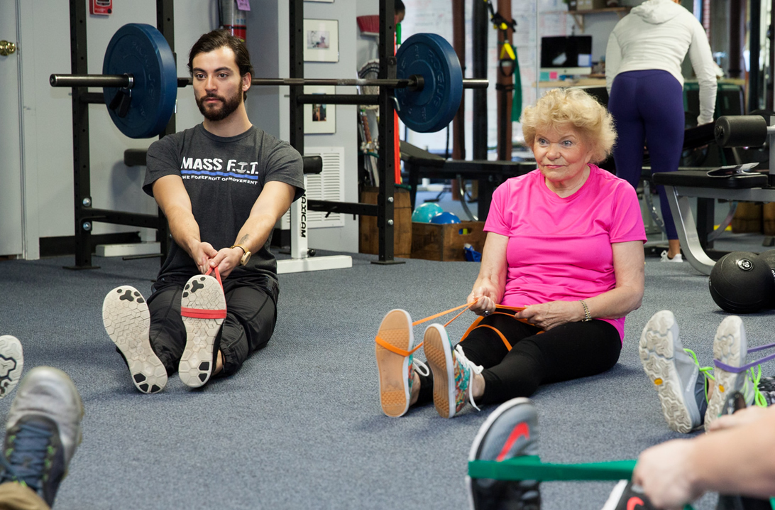 Mass-Fit offers Lower Back Classes for safe, effective pain relief
